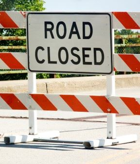Medora and Victory Road Closures