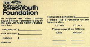 Donation Solicitation Card