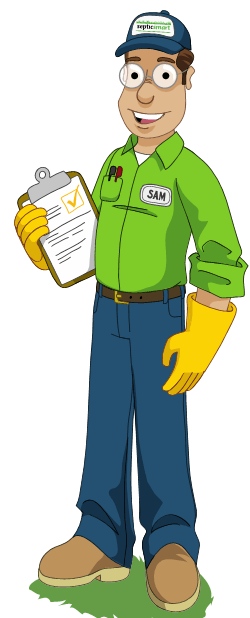 Septic Sam helps you learn about septic systems